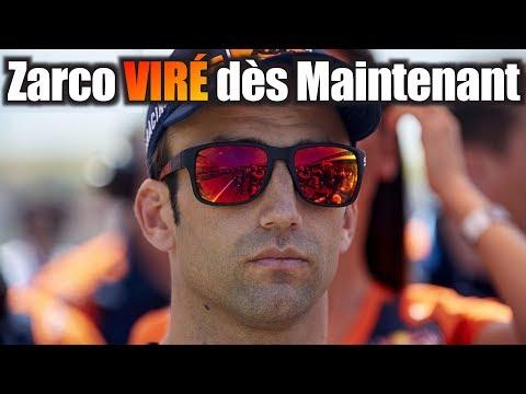 Zarco VIRÉ, et REMPLACÉ par Mika Kallio pour la fin de saison 2019