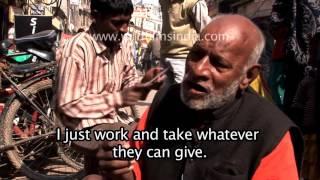 Roadside Dentist of Varanasi in india