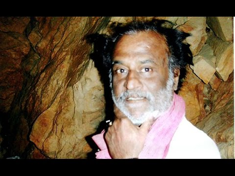 super star rajinikanth in himalayas RARE VIDEO HD