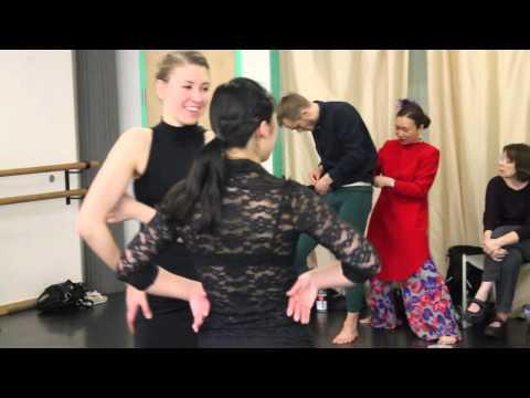 Dance Choreographer Sunhwa Chung Ko-Ryo Dance Theater @ Dance for DNA 2013