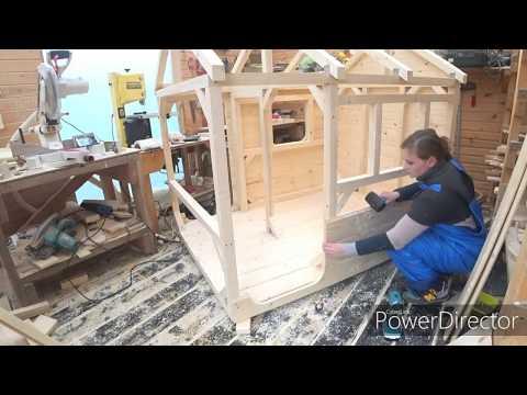 Как сделать своими руками детский домик из дерева