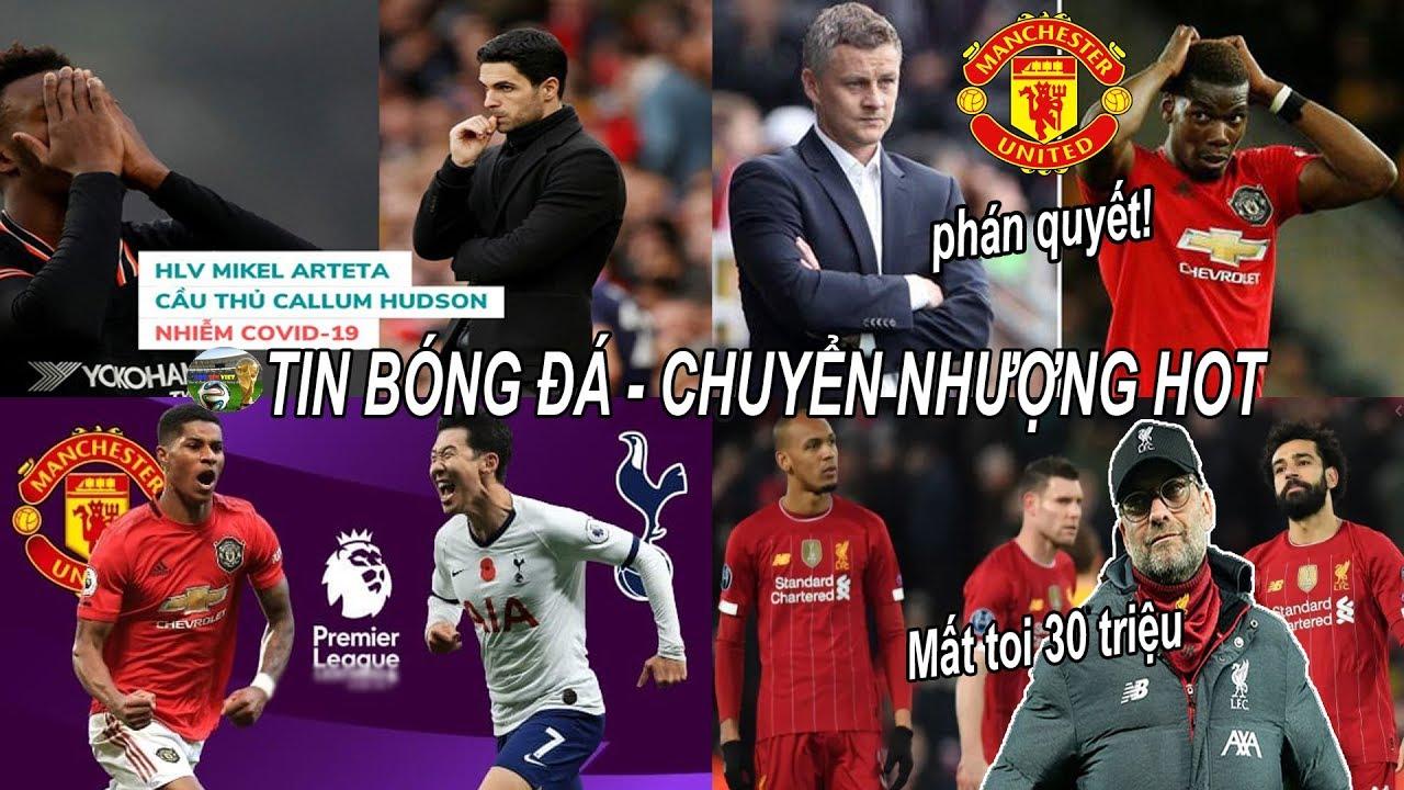 ?Tin bóng đá 13/03|Vòng 30 NHA Đại chiến MU Tottenham, MU ra phán quyết về tương lai của Pogba