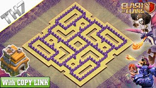 NEW TH7 War Base 2020 | TH7 Base with COPY LINK - Clash of Clans