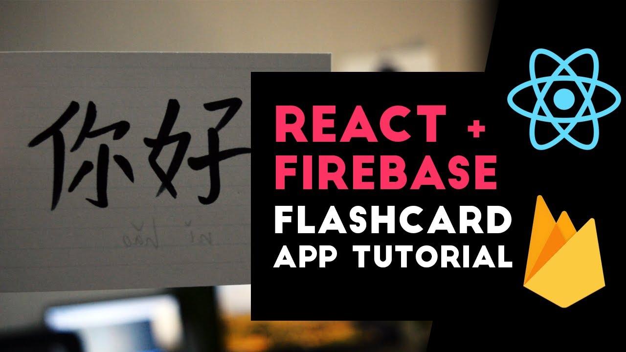 React Firebase Flashcards App Tutorial