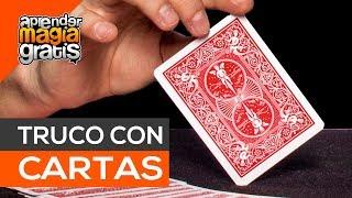 Truco de magia con cartas con Manuel alcalde , Aprender magia gratis