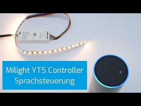 MiLight YL5 5in1 Controller Amazon Echo * Alexa kompatibel einrichten    anlernen - DEUTSCH
