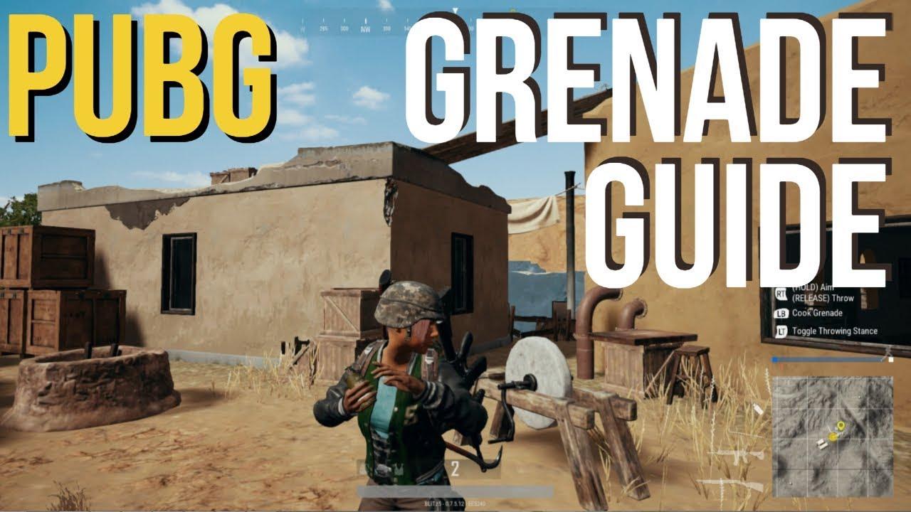 Pubg Grenade Guide Tips Tricks Youtube