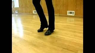 Уроки степа / чечетки. 6-кратный медленный повтор Warm Ups With Syncopation