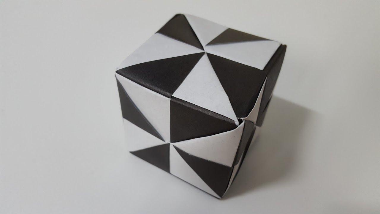 origami cube origami