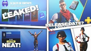 14 days of Fortnite last skin leaked?,Maven Skin Release date? ,*NEW* Accolades Emote & More!