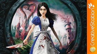 Alice - Speed Painting (#Krita)   CreativeStation GM