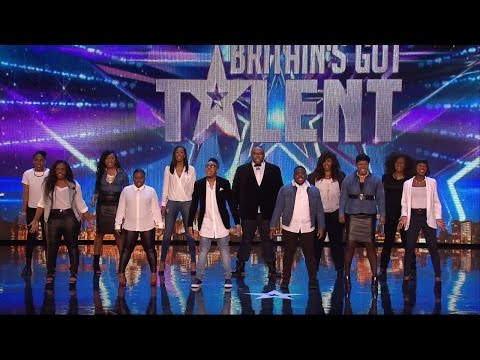 "Britain's Got Talent 2015 S09E03 Gospel Choir Revelation Avenue Sing Katy Perry's ""Roar"""