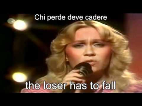 ABBA-The Winner Takes It All Live 1980 ( Lyrics + traduzione ).avi