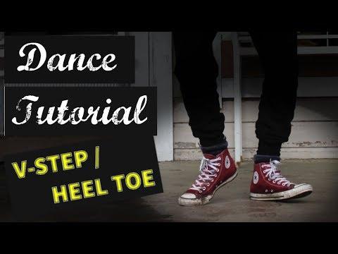 Electro Swing Dance Tutorial: How To Do Heel Toe / V-Step / Happy Feet