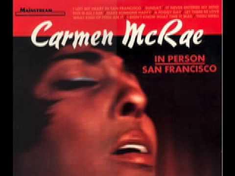 Carmen McRae,