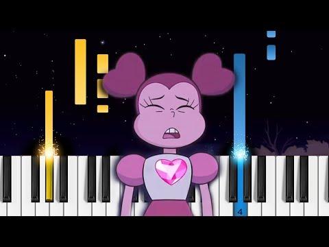 Drift Away - Steven Universe: The Movie - Piano Tutorial / Piano Cover
