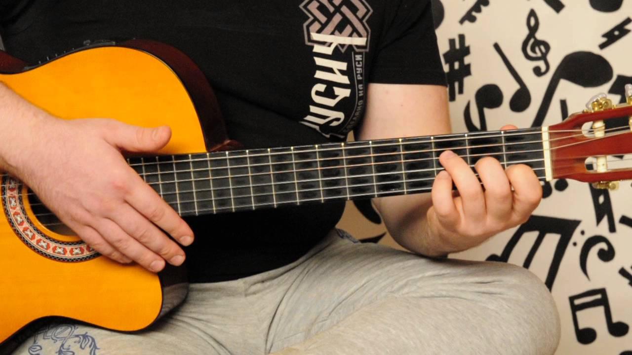Самоучитель игры на 6 струнной гитаре