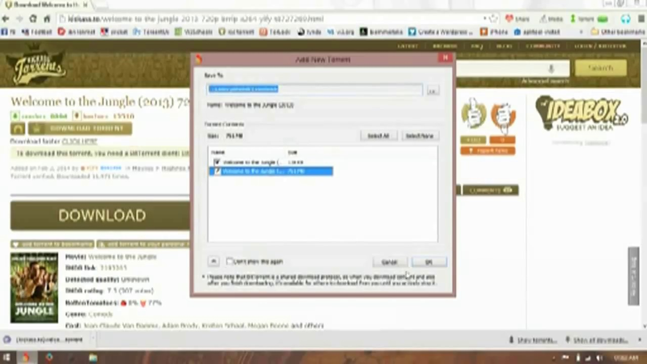 download with torrent web video