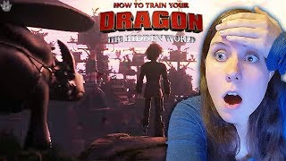 Silver Reacts: HTTYD: The Hidden World NYCC EXCLUSIVE CLIP!