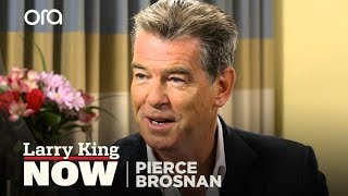 Pierce Brosnan On The New James Bond | Larry King Now | Ora TV