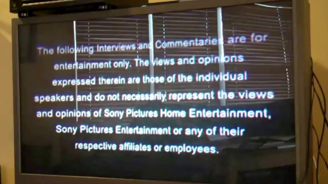 sony pictures home entertainment interviewscommentary