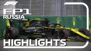 2019 Russian Grand Prix​: FP1 Highlights