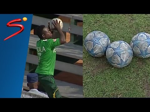 Witchcraft in football - Angry fans stab soccer balls