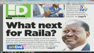 Raila will not retire from politics and 2022 succession debate, Jubilee told