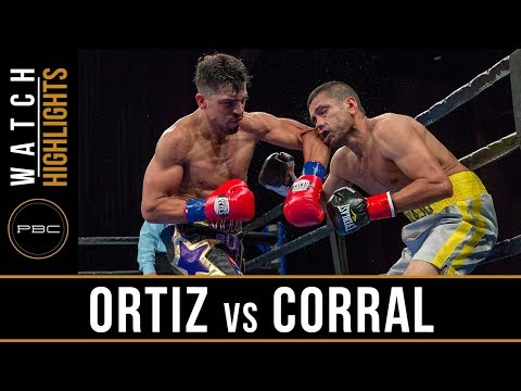 Ortiz vs  Corral Highlights: July 30, 2017 - PBC on FS1