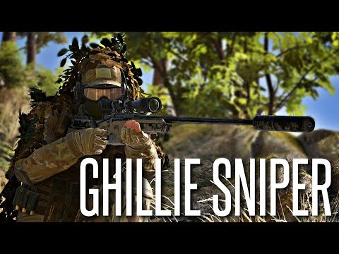 GHILLIE SNIPER - Ghost War PVP Beta Gameplay