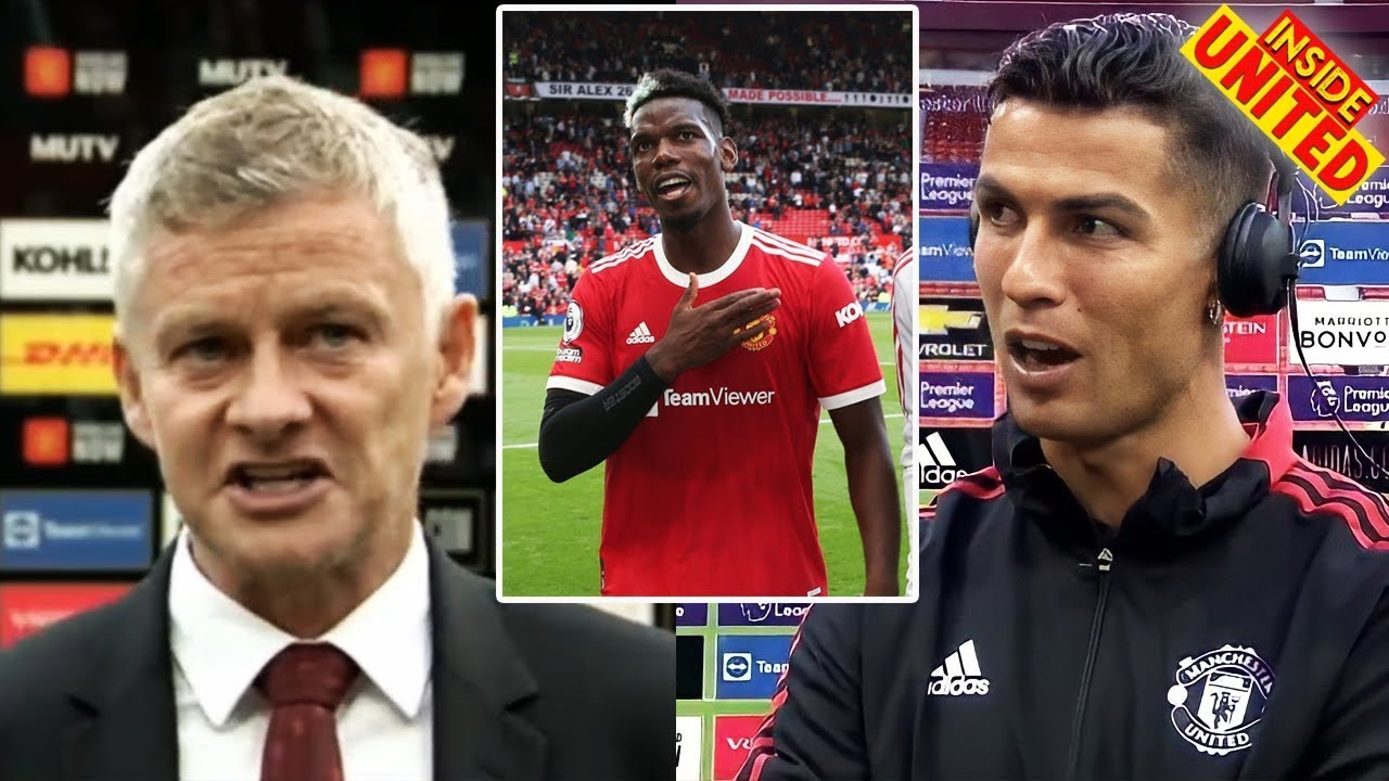 Pogba Seven Asisst New Record😍CR7 Reacts 'Super Nervous'🤣Solskjaer Reacts CR7👏Man United News Today
