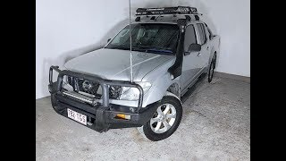 (SOLD) Automatic Turbo Diesel 4×4 Nissan Navara D40 Dual Cab 2006 Review For Sale