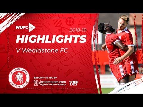 Highlights: Welling United 1-1 Wealdstone FC - 03.11.18