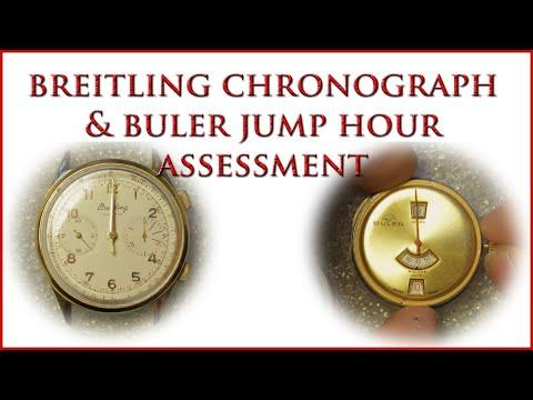 Breitling Chronograph & Buler Jump Hour Assessment