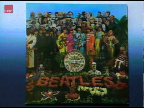 The Beatles at the anniversary of Sergeant Pepper
