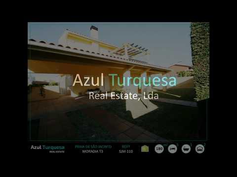 Praia de São Jacinto - Azul Turquesa Real Estate - Moradia T3 Isolada