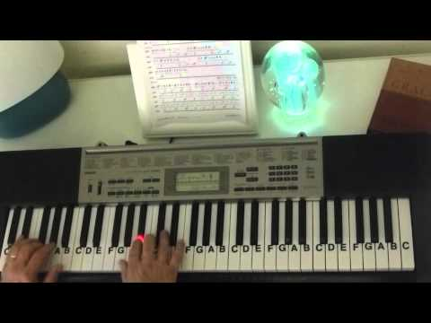 How to Play ~ Hall Of Fame ~ The Script - ft.  will.i.am ~ LetterNotePlayer ©