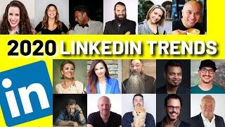 LINKEDIN Marketing 2020 | Trends & Tips from 16 LINKEDIN EXPERTS