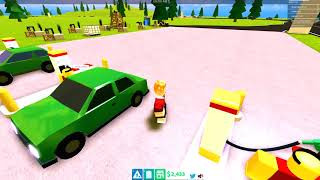 CHIPMUNK VS $10,000,000 GAS STATION IN ROBLOX (Gas Station Simulator)