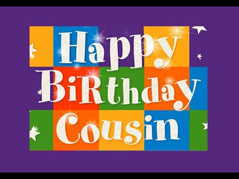 HAPPY BIRTHDAY COUSIN E Card Category Birthday For Male Cousin