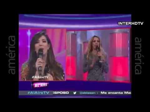 Sofía Franco y Silvia Cornejo se pelean en † Al Aire †