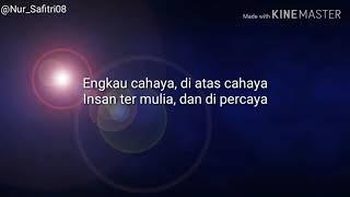 Lirik Lagu Senandung rindu -Syubbanul Muslimin