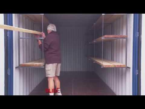 Insta Rhino Shelf Brackets and Pipe Rack