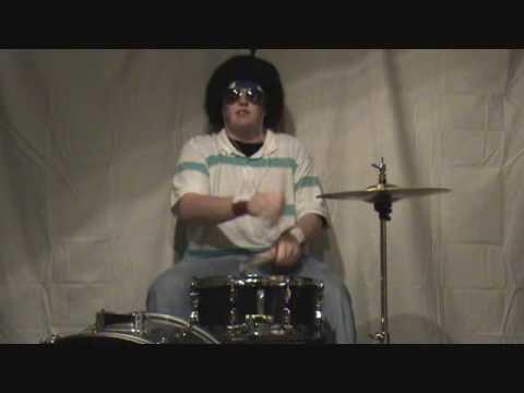 Halloween Drum Cover/Lip Sync- Funkytown