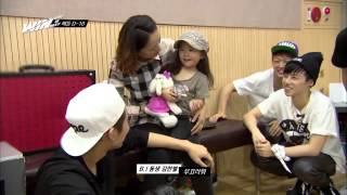 [ENG] WIN: Team B (B.I w/ his mom & sister)