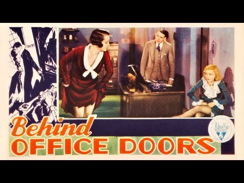 Behind Office Doors (Private Secretary) - 1931 Remastered HD