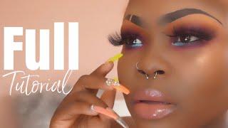 Start to Finish makeup tutorial 2019 ft Juvias Place