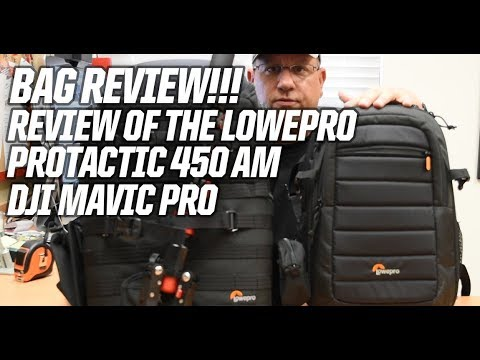 Review of the LowePro Protatic 450 AW for the DJI Mavic Pro