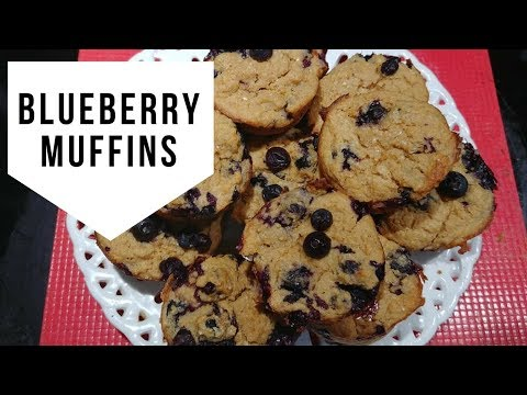 Low Fat Blueberry Muffins Recipe (1 sP) - Best Blueberry Muffins