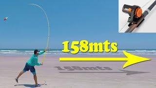 Como ARREMESSAR mais de 150mts na PESCA de PRAIA com Movimentos SIMPLES !! Dicas SURFCASTING